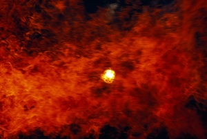 red-flame-like-clouds